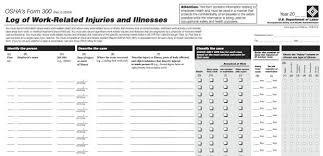 OSHA Recordable Injuries